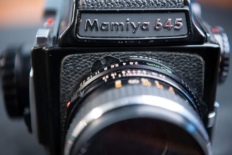 Mamiya 645 - historische Kamera aus den frühen 80er Jahren