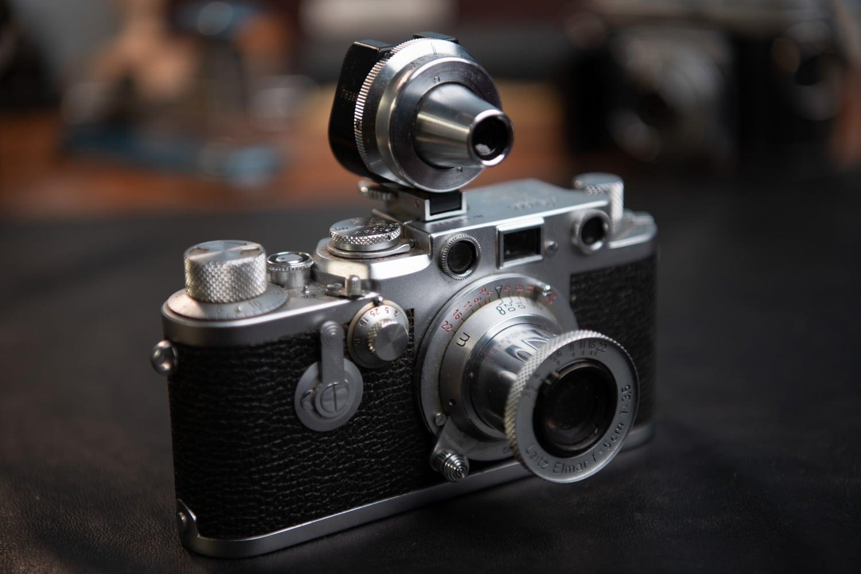Leica IIIf - historische Kamera von 1954